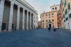 Configuración romana Imágenes de archivo libres de regalías