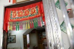 Configuración tradicional china de la boda Foto de archivo