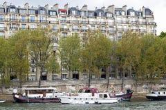 Configuración tradicional en París, Imagen de archivo libre de regalías
