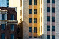 Configuración urbana Fotografía de archivo libre de regalías