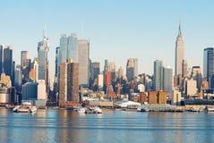 Configuración urbana, New York City Foto de archivo