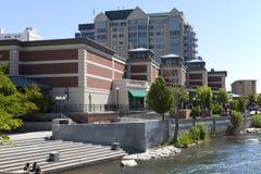 Configuración y río de Reno. imagen de archivo libre de regalías