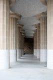 Configuración de Guell del parque Imagen de archivo libre de regalías