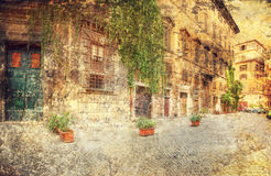 Configuración de Roma Italia Fotografía de archivo libre de regalías