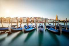 Configuración en Venecia Imágenes de archivo libres de regalías