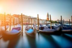 Configuración en Venecia Fotografía de archivo
