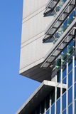 Configuración moderna del edificio de oficinas Fotos de archivo libres de regalías