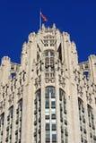 Configuración neogótica en Chicago Fotos de archivo