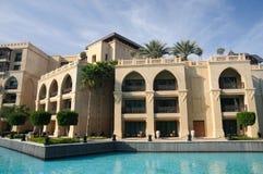 Configuración oriental del estilo en Dubai Imágenes de archivo libres de regalías