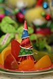 Configuraciones de lugar festivas Fotos de archivo libres de regalías