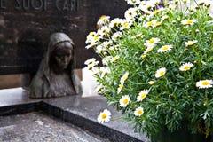 Configuraciones del cementerio - Europa Imagen de archivo libre de regalías