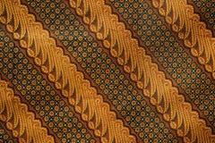 Configuration 2 de batik Photo libre de droits