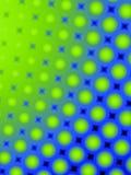 Configuration 2 de points de polka d'amusement rétro Photos stock