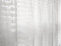 Configuration abstraite blanche d'abat-jour d'hublot de lacet Image stock
