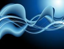 configuration abstraite de bleu de fond Photo libre de droits