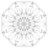 Configuration abstraite de cercle Image libre de droits