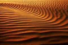 Configuration abstraite de désert Photo libre de droits