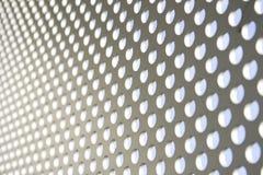 Configuration abstraite en métal Images libres de droits