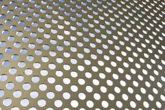 Configuration abstraite en métal Image libre de droits