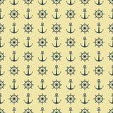 Configuration abstraite Fond sans couture marin illustration de vecteur