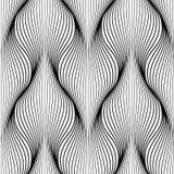 Configuration abstraite géométrique Fond sans couture Texture monochrome Contexte moderne graphique illustration libre de droits