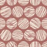 Configuration abstraite sans joint Cercles abstraits Fond f Image libre de droits