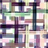 Configuration abstraite sans joint Courses multicolores de brosse sur un fond clair illustration libre de droits