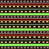 Configuration africaine Photos stock