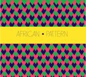Configuration africaine Photographie stock