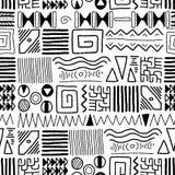 Configuration africaine Image libre de droits