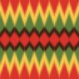Configuration africaine Textile ethnique Copie d'Ikat Papier peint de vecteur illustration de vecteur