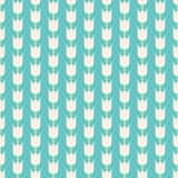 Configuration avec des fleurs Fond sans couture de carrelage Icônes florales de vecteur Façonnez le tissu décoratif, papier d'emb illustration de vecteur