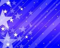 Configuration avec des étoiles Images stock