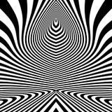 Configuration avec l'illusion optique abrégez le fond Art optique illustration du vecteur 3d illustration stock