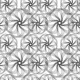 Configuration blanche noire Photo stock