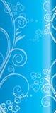 Configuration bleue de fond Images stock