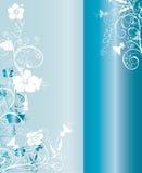 Configuration bleue et blanche de fond Image stock