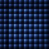 Configuration bleue et noire de fond Image libre de droits