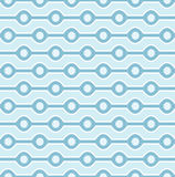 Configuration bleue sans joint Photos stock