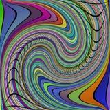 Configuration bouclée Image stock