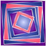 Configuration carrée abstraite 2 de tuile Photos libres de droits