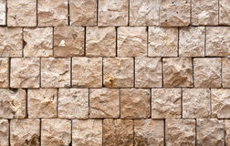 Configuration carrée de brique Image libre de droits