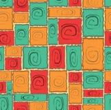 Configuration carrée sans joint Photos stock