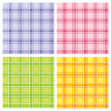 Configuration checkered sans joint Image stock