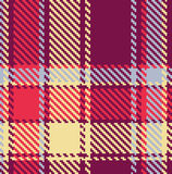 Configuration checkered sans joint Photos stock