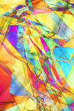 Configuration colorée Image stock