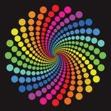 Configuration colorée illustration de vecteur