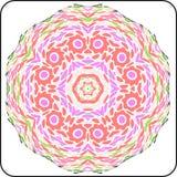 Configuration colorée de symétrie Illustration de Vecteur