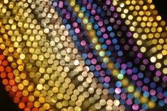 Configuration colorée des lumières Images stock