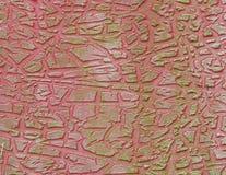 Configuration criquée de peinture Photos stock
